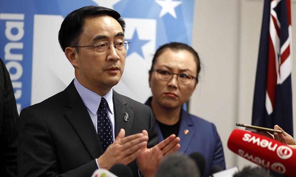 新西兰中国裔议员杨健