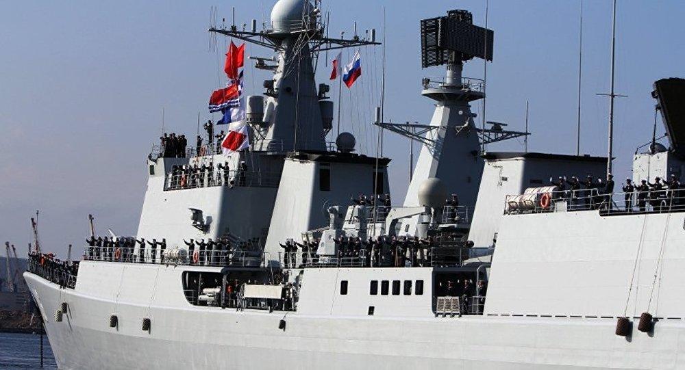 俄中海軍聯合軍演讓西方心神不定