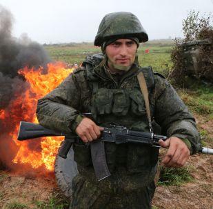 「西方-2017」戰略演習的參演官兵