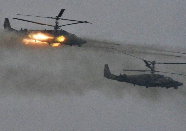 卡52武装直升机