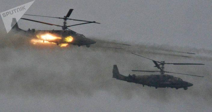卡-52战斗直升机