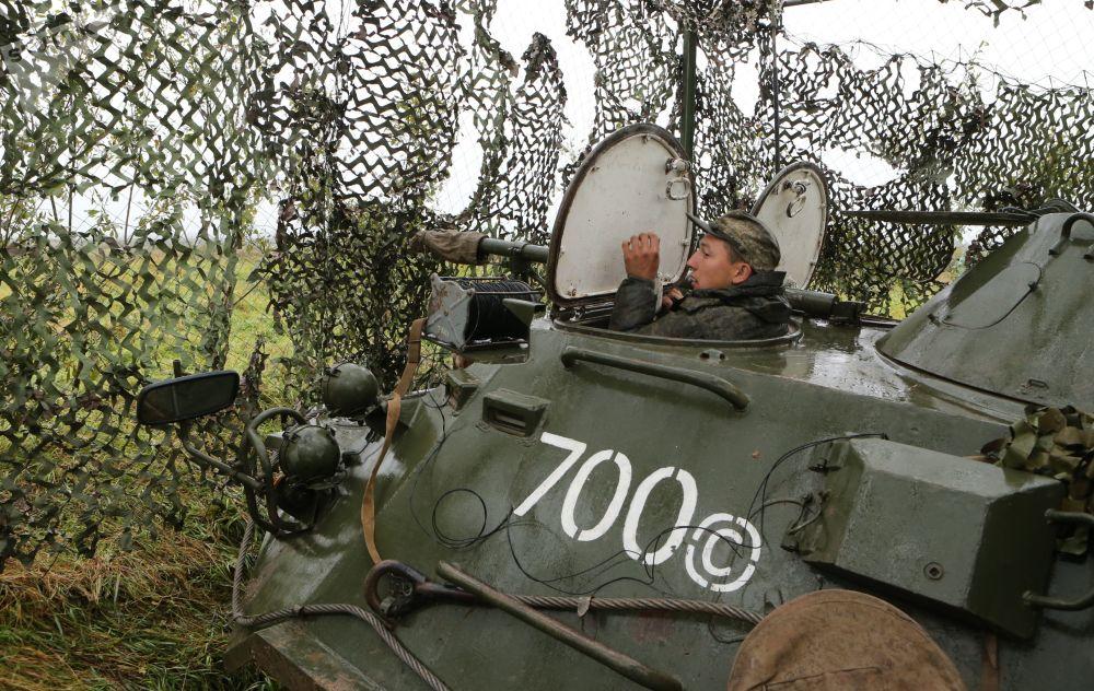 """""""西方-2017""""战略演习动用的军事装备"""