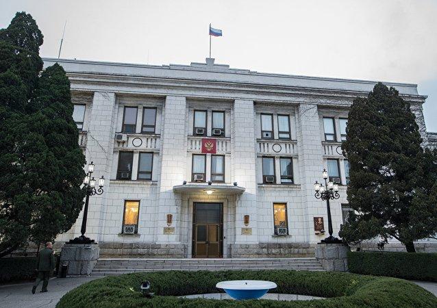 俄駐朝使館