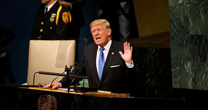 特朗普指责伊朗与朝鲜合作