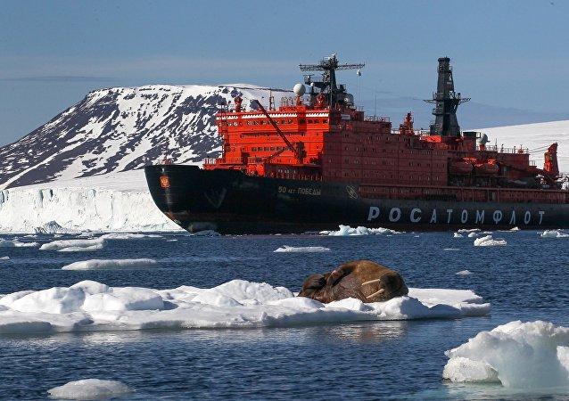 美媒:美國已在北極競爭中落後於俄羅斯