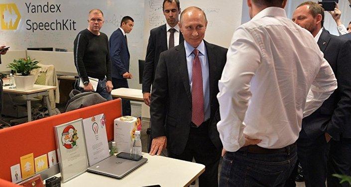 普京視察Yandex總部聽取有關人工智能發展報告