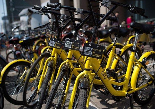 莫斯科在世界杯后将启动中国无站式共享单车系统