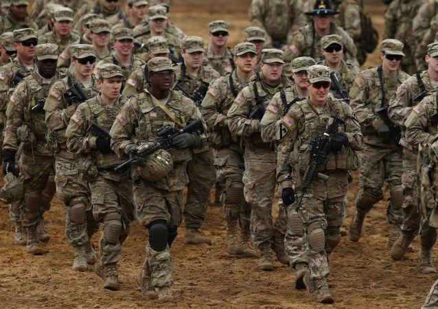 美国军人在立陶宛