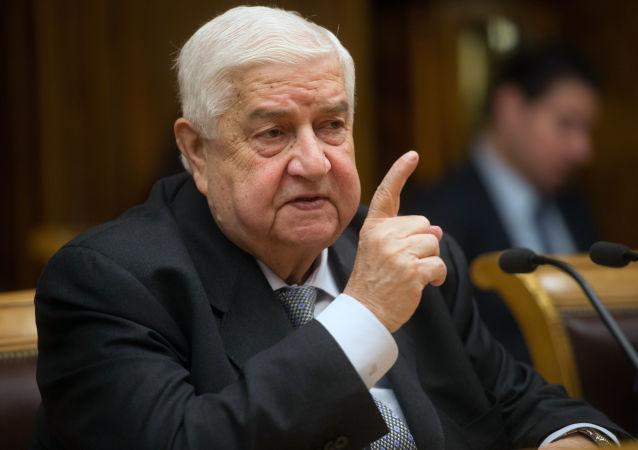 敘利亞外長穆阿利姆