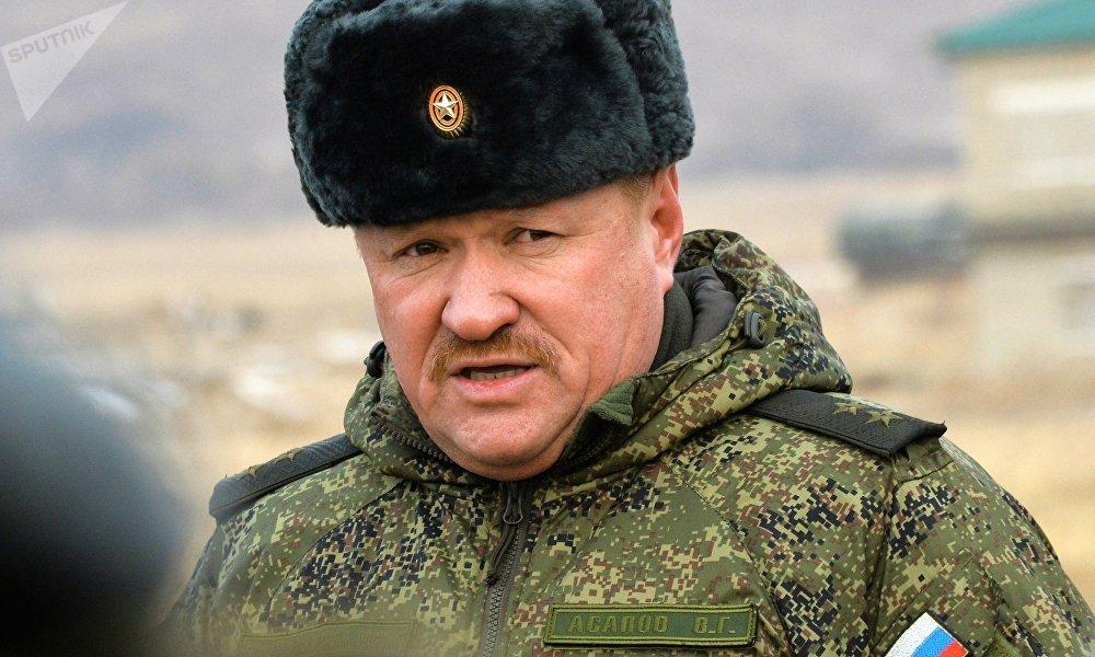 俄罗斯陆军中将瓦列里·阿萨珀夫