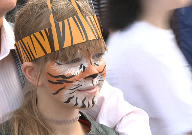 我們會懲罰偷獵者,保護老虎,不讓它們受欺負。」