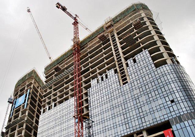 莫斯科中國貿易中心華銘園將於今年底竣工