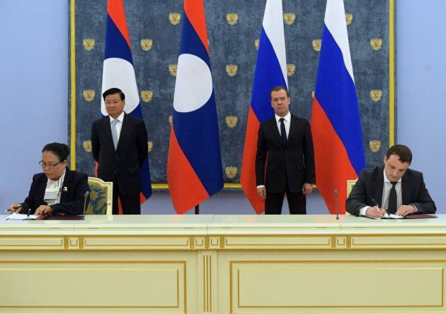 俄羅斯與老撾簽署修建塞公5號水電站協議