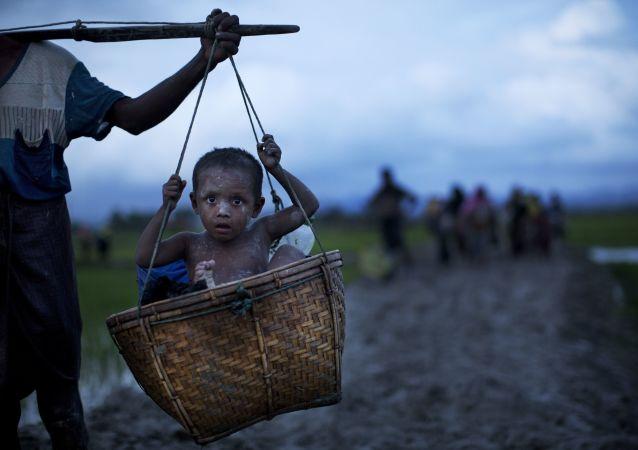 """美国务院:罗兴亚难民营的状况""""令人震惊"""""""