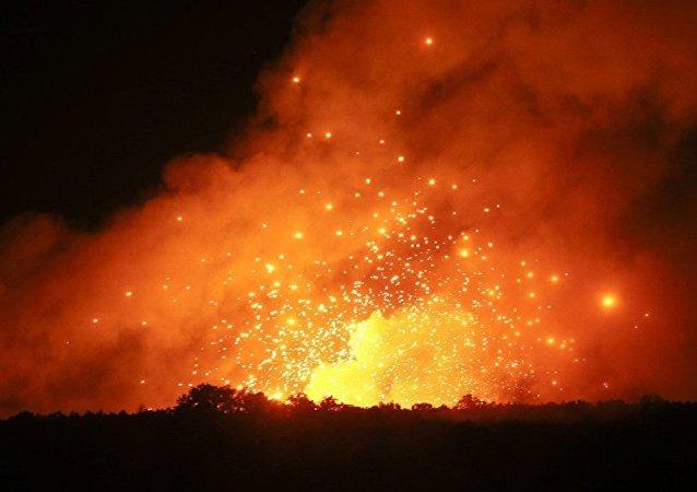 媒体:大火在距葡萄牙首都40公里处肆虐