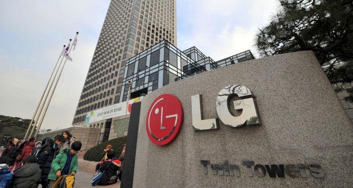 Логотип LG в Сеуле