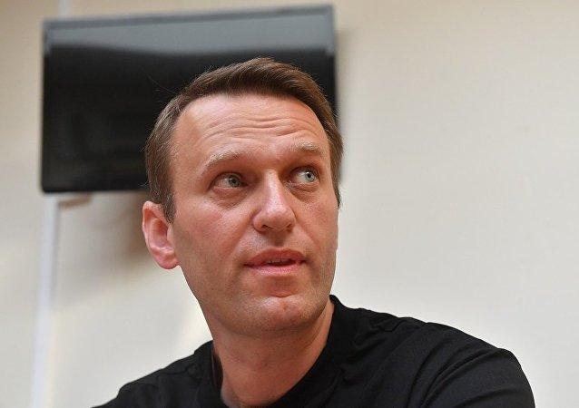 俄反對派人士納瓦利內因3.1萬美元的債務可能被限制出境