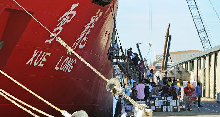 中國的第一艘國產破冰船將在2019年下水