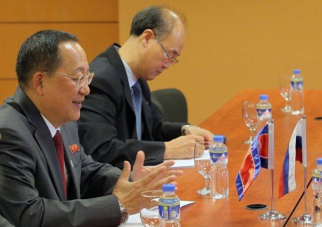 俄朝外交官在莫斯科就朝鮮半島問題舉行磋商