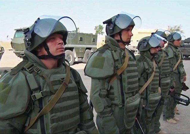 俄工兵在叙代尔祖尔数天内拆除数千枚地雷
