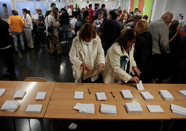 加泰羅尼亞脫離西班牙獨立的公投