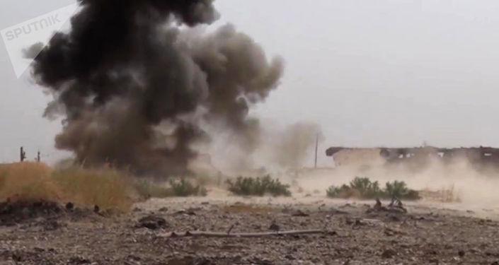俄國防部:俄戰機過去24小時對敘境內恐怖分子發動182次空襲