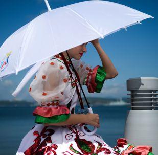 日本發明飛行雨傘