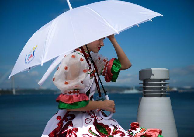 日本发明飞行雨伞
