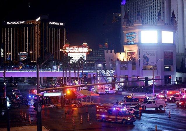 美國警方:400多人在拉斯維加斯槍擊事件後被送醫救治