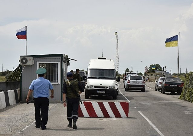 一名俄边防人员在与试图潜入乌克兰的不明分子交火时身亡
