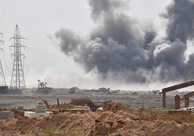 俄空天军摧毁恐怖分子在叙3个指挥所 30多件装备