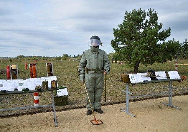 俄国防部:东盟国家的排雷演习将于2018年在莫斯科州举行