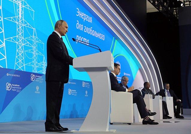 普京:某些國家為自身利益進行能源制裁