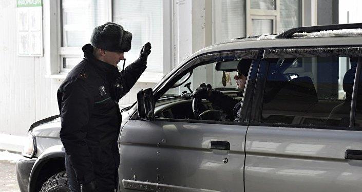 車輛邊檢站(圖片資料)