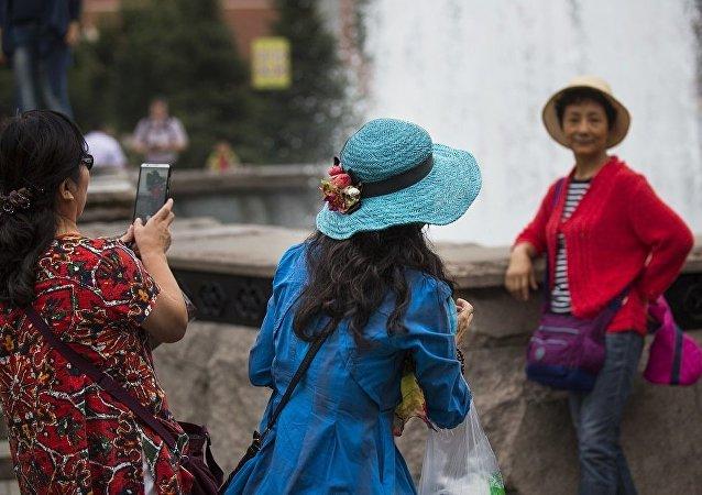 中国赴俄旅游团入境未受免签信息传输系统故障影响