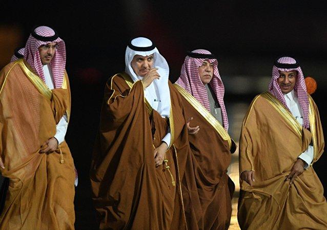 沙特国王随从下榻莫斯科带有东方奢华风格的酒店