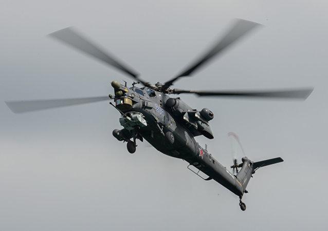 俄罗斯军机在叙利亚迫降