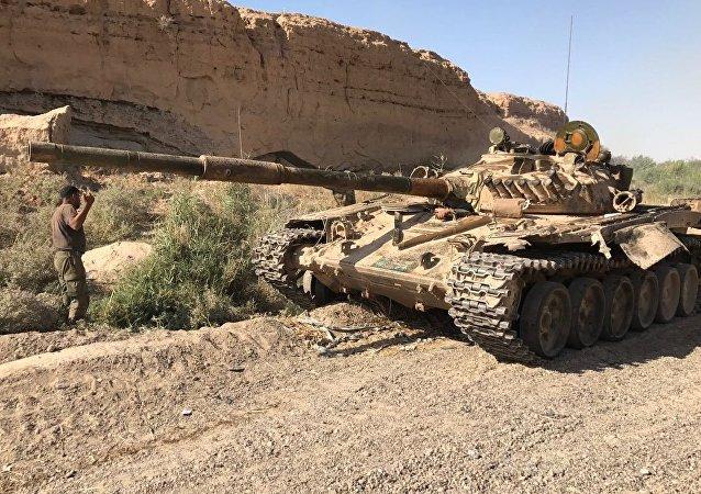 叙政府军攻入伊斯兰国组织代尔祖尔省最大据点迈亚丁市