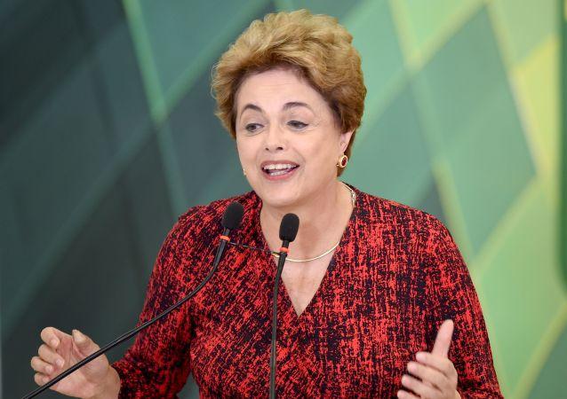 巴西前總統盧塞夫稱形成金磚機制是21世紀主要成就