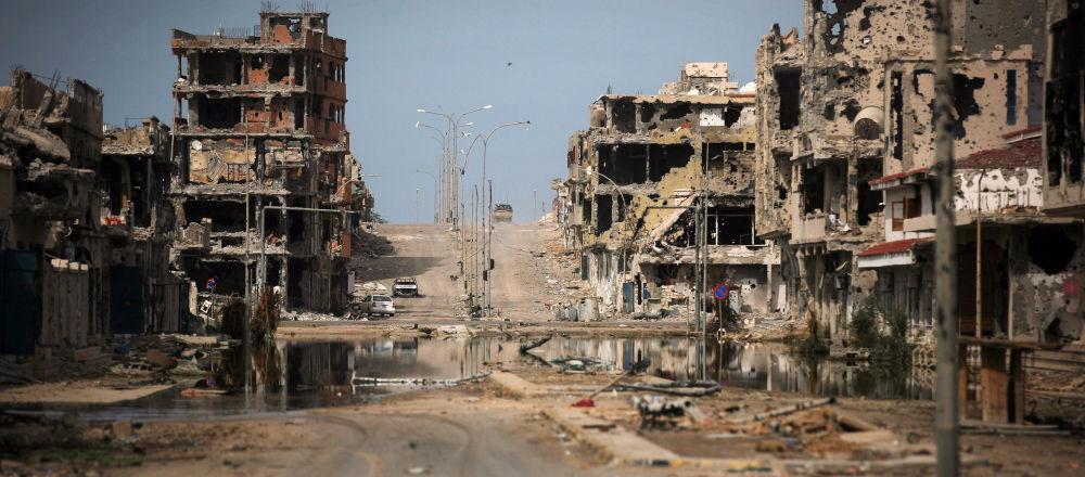 利比亚苏尔特空袭事件死亡人数增加到32人 另有50多人受伤