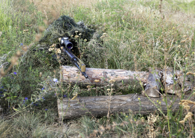 烏軍狙擊手