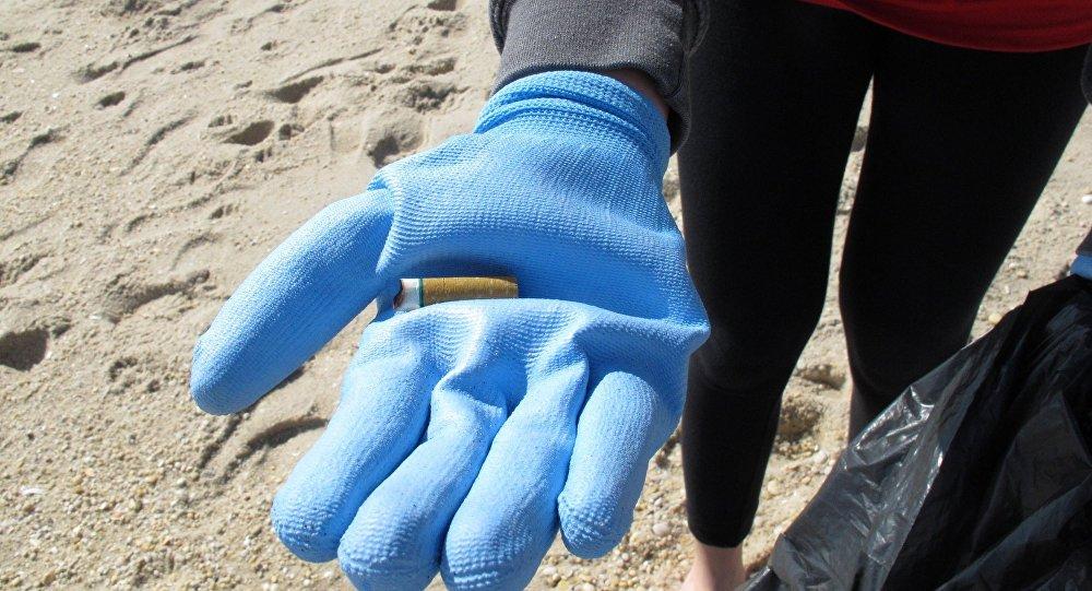 烟头占欧洲海岸塑料废物的21%