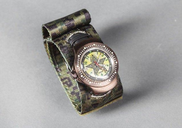 俄羅斯研發防核爆軍事手錶