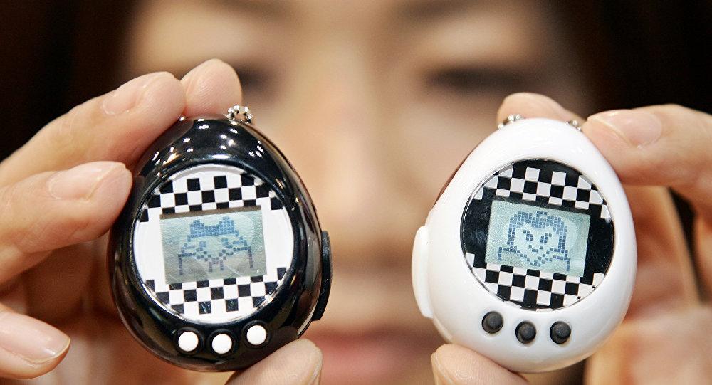 """更新版的""""电子宠物蛋""""玩具将在美国上市"""