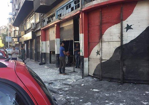 敘利亞大馬士革中心地區遭到迫擊炮炮擊 2人死亡