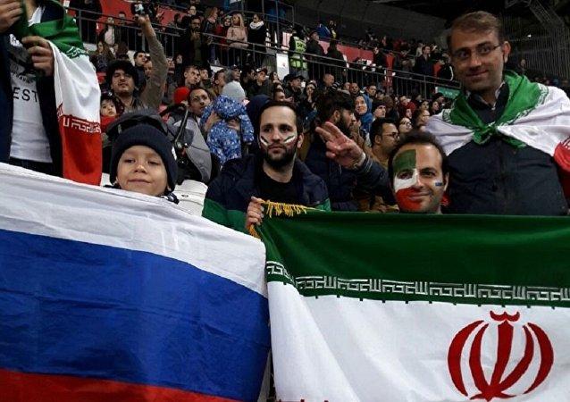 伊朗球迷评俄罗斯2018年世界杯的筹备情况