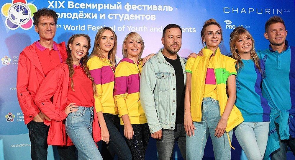 """世界青年学生联欢节大游行将""""点燃""""莫斯科"""