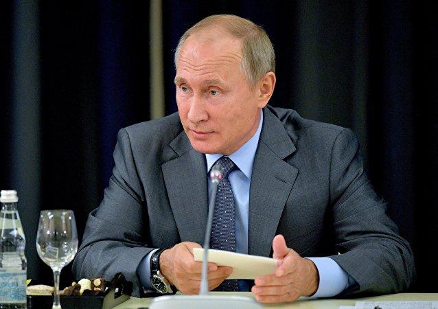 普京:俄经济增长为德国企业开辟新机