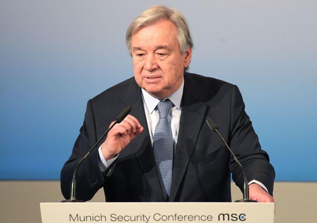 联合国秘书长呼吁叙西南部各方立即停火