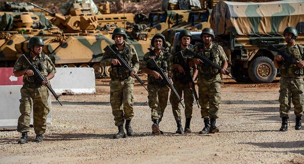 埃爾多安稱土軍與敘利亞自由軍在敘啓動聯合行動